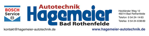 Logo des Fördermitglieds Hagemeier Autotechnik