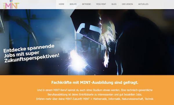 Website Relaunch: neue Let's MINT-Homepage online