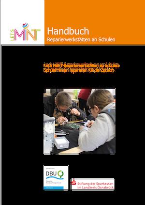 Let's MINT Handbuch Reparierwerkstätten